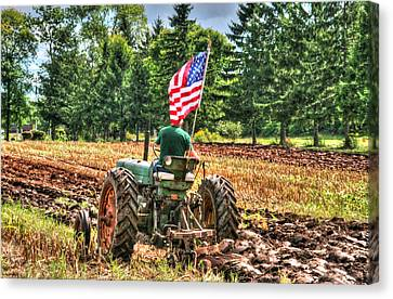 American Farmer Canvas Print by Michael Allen