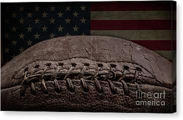 American Football Canvas Print by Edward Fielding