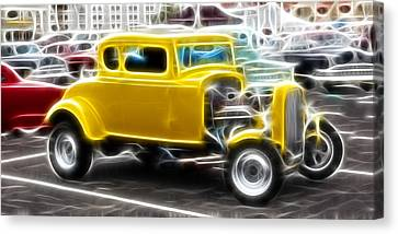American Grafitti Coupe Canvas Print by Steve McKinzie