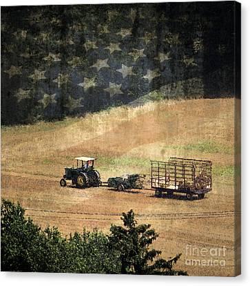 American Heartland Canvas Print by Dawn Gari