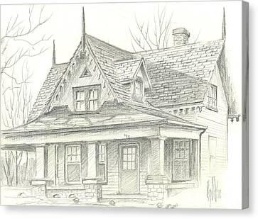 American Home Canvas Print by Kip DeVore