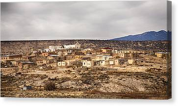 American Indian Village Canvas Print by James BO  Insogna