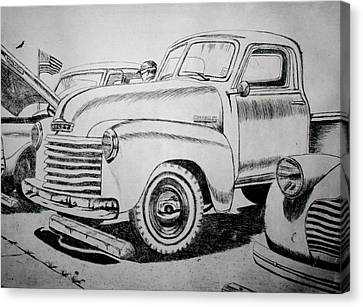 American Made Canvas Print by Stacy C Bottoms