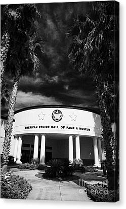 american police hall of fame and museum Florida USA Canvas Print by Joe Fox