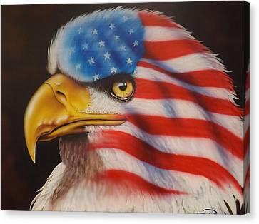 American Pride Canvas Print by Darren Robinson
