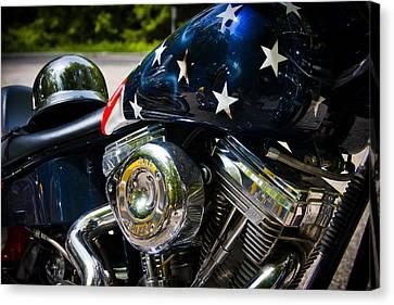 American Ride Canvas Print by Adam Romanowicz