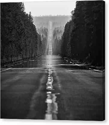 American Road Trip Canvas Print by Alexis Birkill
