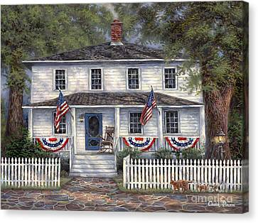 American Roots Canvas Print by Chuck Pinson