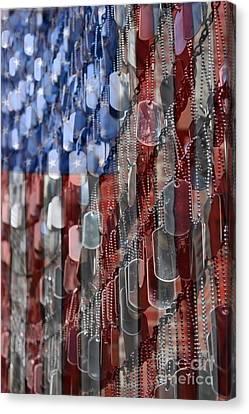 Air Force Canvas Print featuring the photograph American Sacrifice by DJ Florek