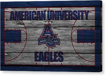 American University Eagles Canvas Print by Joe Hamilton