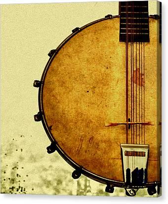 Americana Music Canvas Print by Bill Cannon