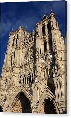 Amiens Cathedral France Canvas Print by Aidan Moran