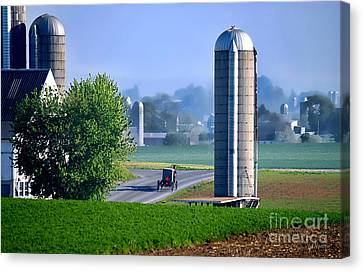 Amish Country  Canvas Print by Dyle   Warren