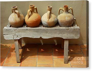Amphoras  Canvas Print by Elena Elisseeva