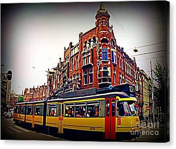 Amsterdam Transportation Canvas Print by John Malone