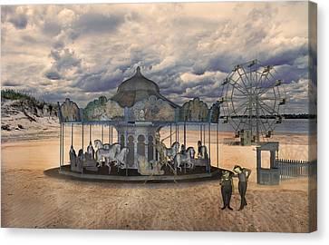 Amusement  Canvas Print by Betsy Knapp