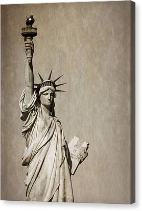 An American Icon Canvas Print by Dan Sproul