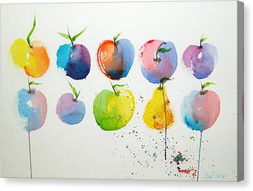 An Apple A Day Canvas Print by Joe Prater