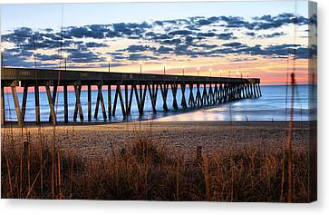 An Atlantic Daybreak Canvas Print by JC Findley