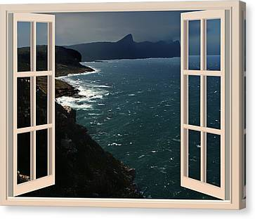 An Evening Sea Breeze Canvas Print by Mountain Dreams