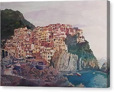 An Italian Jewel Canvas Print by Jenny Armitage