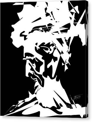 An Old Man Canvas Print by Alex Tavshunsky