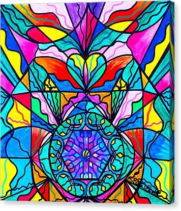 Anahata Canvas Print by Teal Eye  Print Store