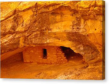 Anasazi Ruins  Canvas Print by Jeff Swan