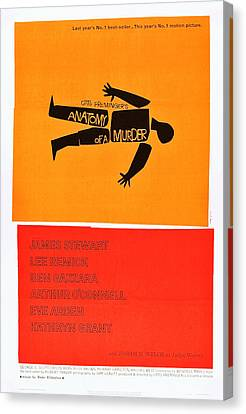 Anatomy Of A Murder, 1959 Canvas Print by Everett