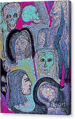 Ancestral Cave Canvas Print by First Star Art
