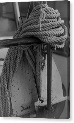 Anchor Canvas Print by Jennifer Burley