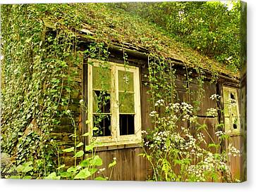 Ancient Cottage Canvas Print by Rene Triay Photography
