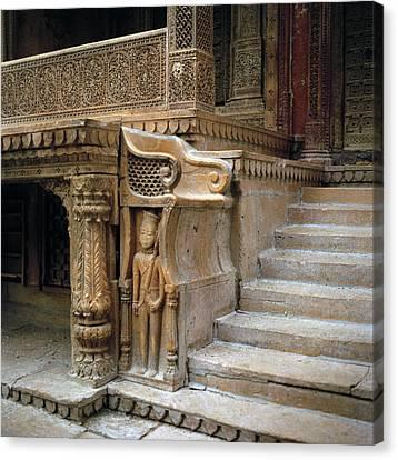 Ancient Rajasthan Canvas Print by Shaun Higson