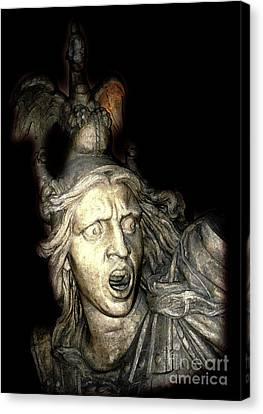Ancient Soldier Canvas Print by Patricia Januszkiewicz