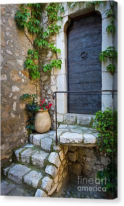 Ancient Stairs Canvas Print by Inge Johnsson