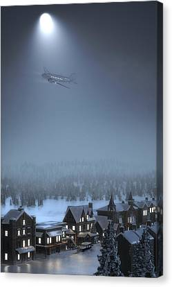 And To All A Good Night Canvas Print by Hangar B Productions