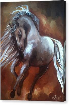 Andalusian Dream Canvas Print by Leni Tarleton