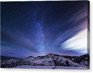 Andromeda Rising Canvas Print by Darren  White