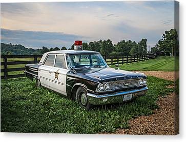 Andy's Car Canvas Print by EG Kight