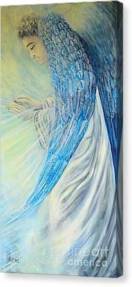 Angel Divine Canvas Print by Caroline Street