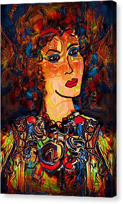 Angel Of Hope Canvas Print by Natalie Holland
