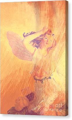 Angel Time  Canvas Print by Susanne Van Hulst