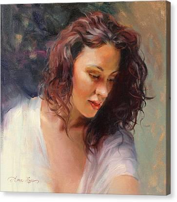 Angelic Canvas Print by Anna Rose Bain