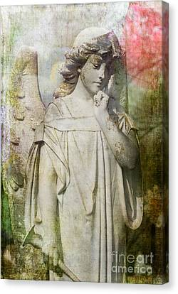 Angelic Thoughts Canvas Print by Sonja Quintero