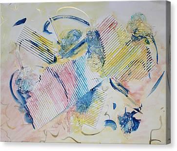 Angels Lingering Canvas Print by Asha Carolyn Young