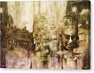 Angkor Canvas Print by Catf