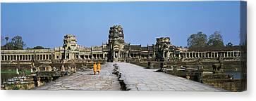 Angkor Wat Cambodia Canvas Print by Panoramic Images