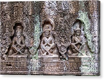 Angkor Wat Canvas Print by Stelios Kleanthous