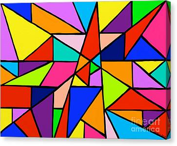 Angle Fun Canvas Print by Anita Lewis