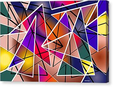 Angular Canvas Print by Stephen Younts